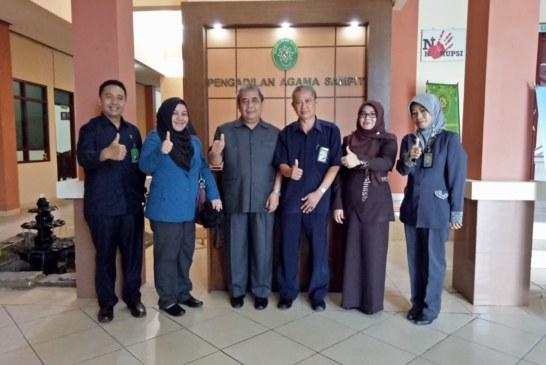 Supervisi Peninjauan Pembangunan/Rehab Gedung Kantor oleh Tim Biro Perlengkapan Mahkamah Agung RI di PA Sampit