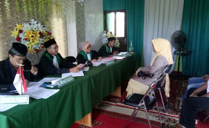 PA Sampit melaksanakan Sidang Di Luar Gedung di Kasongan Kecamatan Katingan Hilir