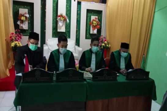 Pengadilan Agama Sampit Melaksanakan Sidang di Luar Gedung