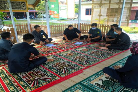 Rapat Evaluasi Kerja Tim Pembangunan Integritas (ZI) Pada Pengadilan Agama Sampit